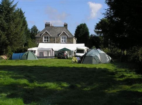 The Old Vicarage Campsite, Bala, Gwynedd, Wales. Campervan. Caravan. Camping. Holiday. Travel.
