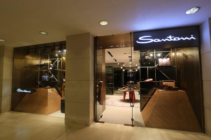 Shop B29, Landmark Men, B/F, Landmark Atrium - Hong Kong  #Santoni #SantoniShoes #HongKong #Luxury #boutique