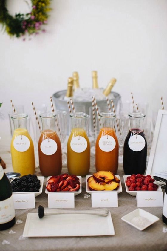 Mimosa Bar Ideas