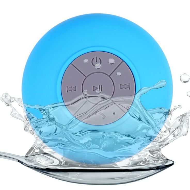 Portable Subwoofer Wireless Ipx4 Waterproof Shower Speakers Bathroom Speaker Bluetooth Handsfree Stereo music sound For Phone