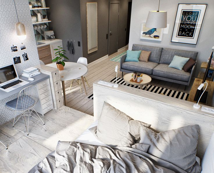 74 best Small Room Ideas | Ideen für kleine Wohnungen images on ...