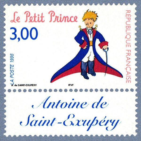 Hall of Stamps: Antoine de Saint-Exupéry