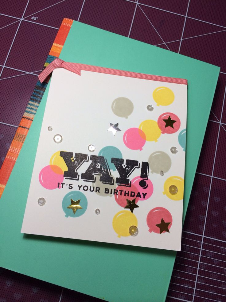 Simon says stamp card kit!