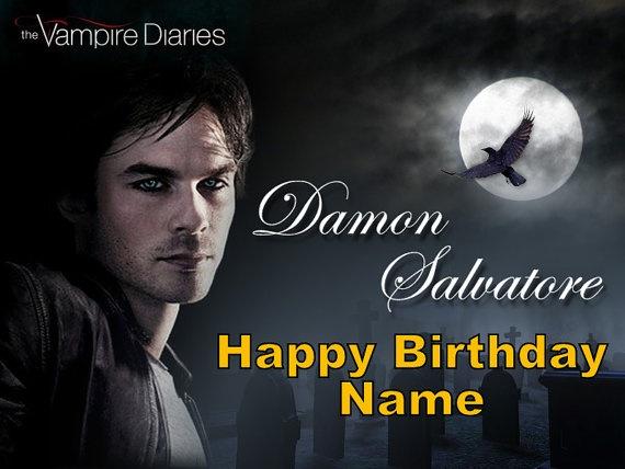 Damon Salvatore Cake