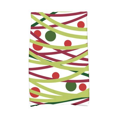 The Holiday Aisle Jump for Joy Doodle Decorations Hand Towel Color: