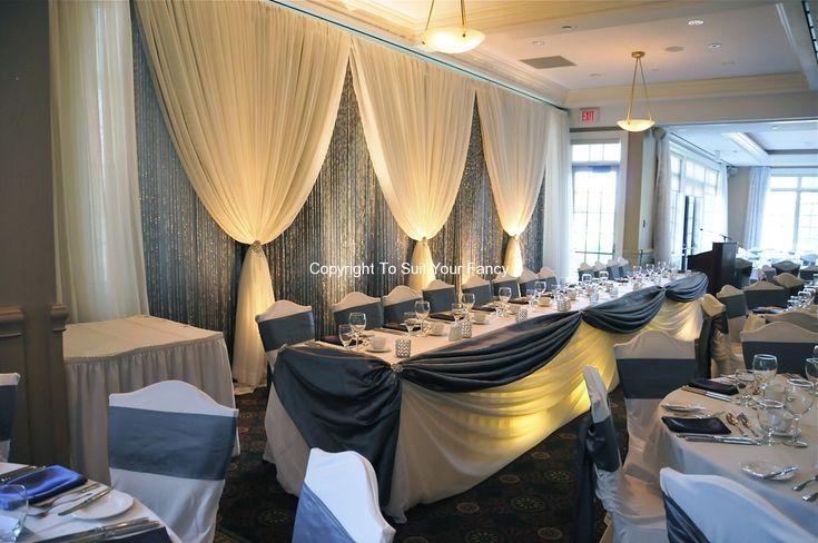 Top 25 Best Wedding Head Tables Ideas On Pinterest: Best 25+ Curtain Backdrop Wedding Ideas On Pinterest