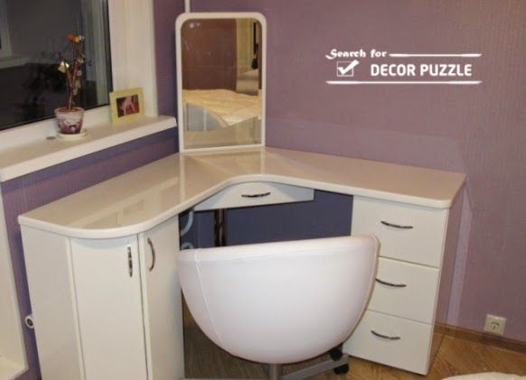Best 25 corner dressing table ideas on pinterest diy Corner dressing table
