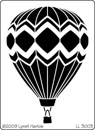 Try simplified hot air balloon?