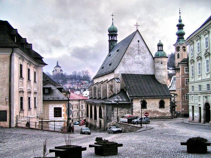 Banská Štiavnica, St. Catherine's church, Slovakia