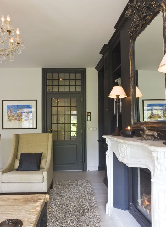 images about Fireplace inspirations on Pinterest Grey room