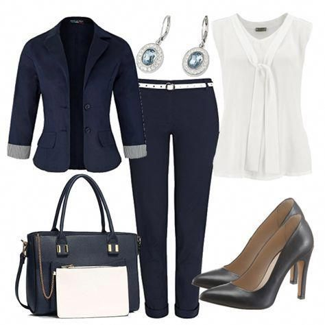 mondaymorning damen outfit  komplettes business outfit günstig kaufen  frauen  fashion for