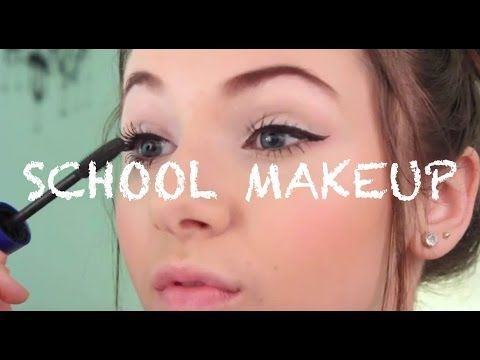 Simple Everyday School Makeup Routine♡ - YouTube