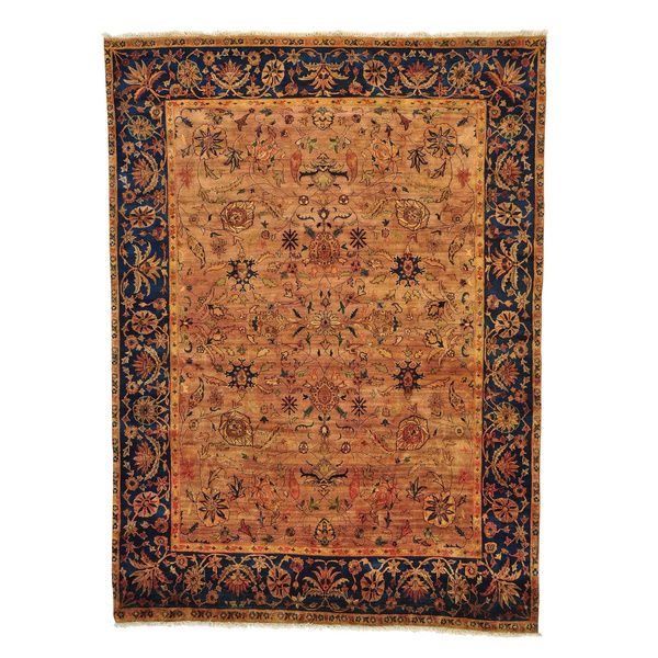 Golden Age Collection Agra Hand Knotted Oriental Rug 7 10 X 9