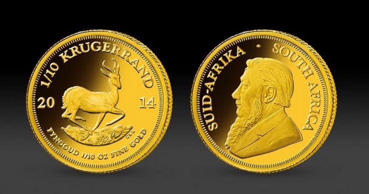 Zlatá mince Krugerrand S očekávaným příchodem ukončení zlatého standardu v roce 1967, se jedna z jihoafrických rafinérií zlata rozhodla vyrobit moderní investiční minci pro veřejnost. Jihoafrická republika měla v té době pod kontrolou přibližně 2/3 světové produkce zlata. Tak vznikla první investiční zlatá mince Krugerrand. Krugerrand je dnes nejoblíbenější investiční zlatou mincí. #goldcoin #krugerrand