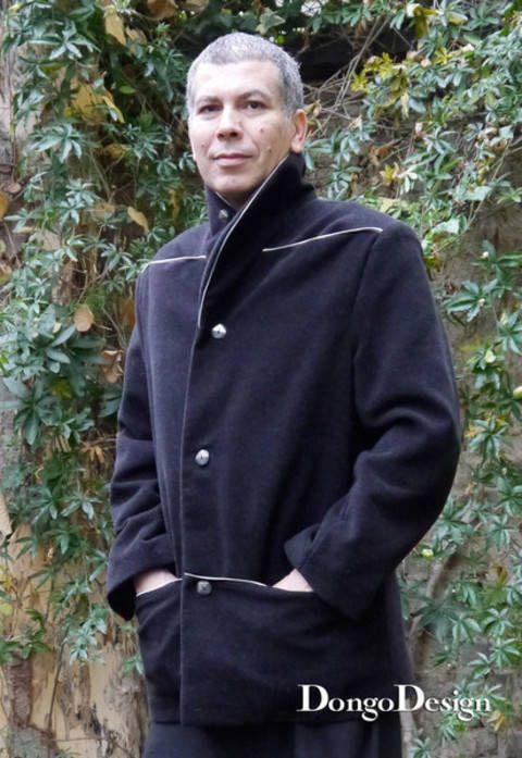 PDF-Schnittmuster Herren Jacke Kurt mit Ebook Nähanleitung bei Makerist