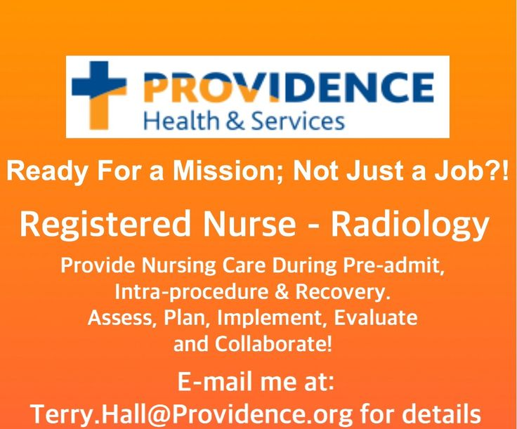 Radiology RN in Everett / Seattle HealthCarejobs