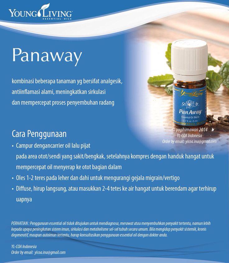 PanAway essential oils www.mamaesensial.com #younglivingindonesia