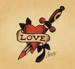sailor jerry | classic Sailor Jerry tattoo: now tatts what I call vintage - Queens ...