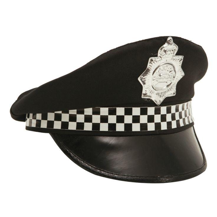 Casquette Policier #chapeauxdéguisements #accessoiresdéguisements #accessoiresphotocall