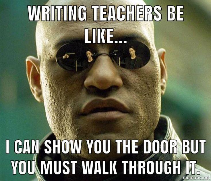 Writing Teacher Memes Amanda Write Now Writer Memes Teacher Memes Told You So