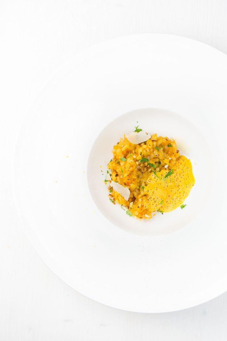 risotto, kürbis, kürbis risotto, risotto rezept, vegetarisch, kürbis rezept, curry, curry schaum