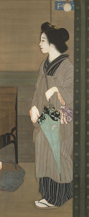 梶原緋佐子《帰郷》 京都市美術館蔵