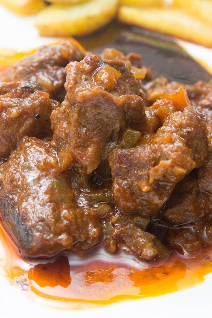 El Baúl de las delicias: Carne al toro o ragut de ternera en olla express. Yo 25 min. Olla al 2. Inducción 3