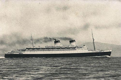 Ocean Liner, Conte Di Savoia, Italian Line, Flotte, Riunite Genova #TuscanyAgriturismoGiratola
