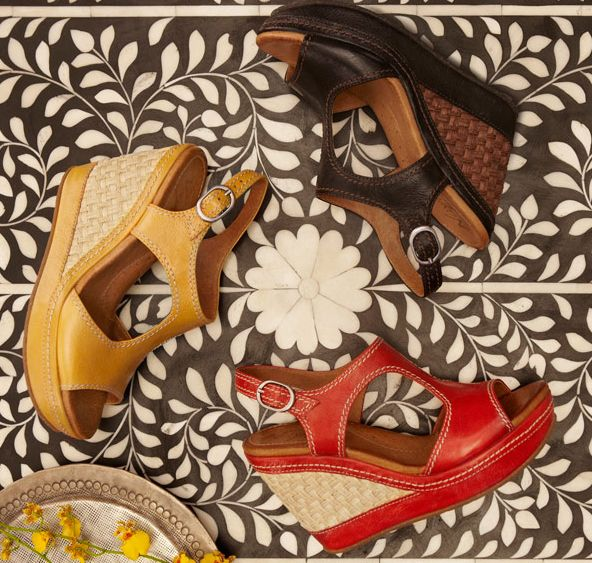 Tell us which sandal style you like best and you could get it for free! http://clossette.com/win-a-free-pair-of-colorful-summer-sandals-wedges-or-flats-by-naya-worth-up-to-140/