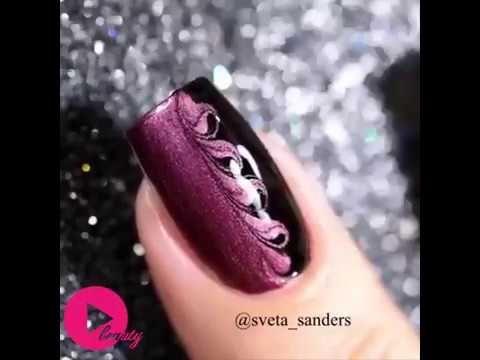 Amazing Nail Art Compilation sveta_sanders - YouTube