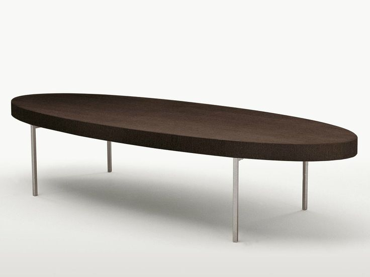 EBE Oval coffee table by Maxalto, a brand of B