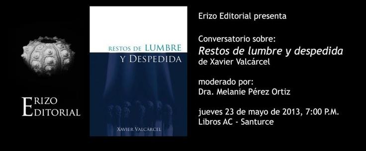 Conversatorio: Restos de Lumbre y Despedida @ Librería Libros AC Barra & Bistro, Santurce