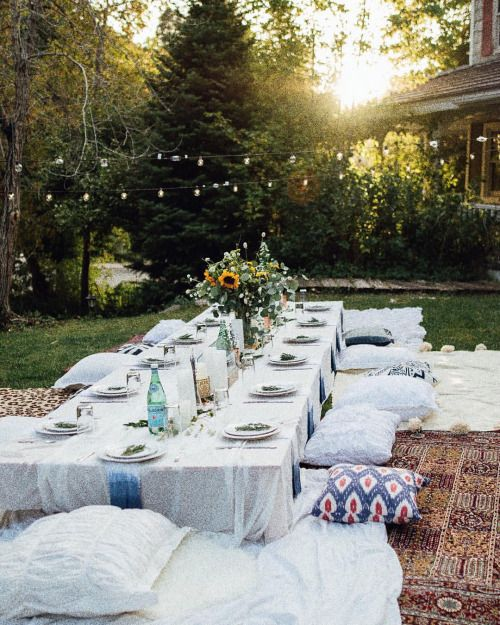 Last nights magical set up for @madysen_boley's surprise party. More photos from this perfect night on makennaalyse.com