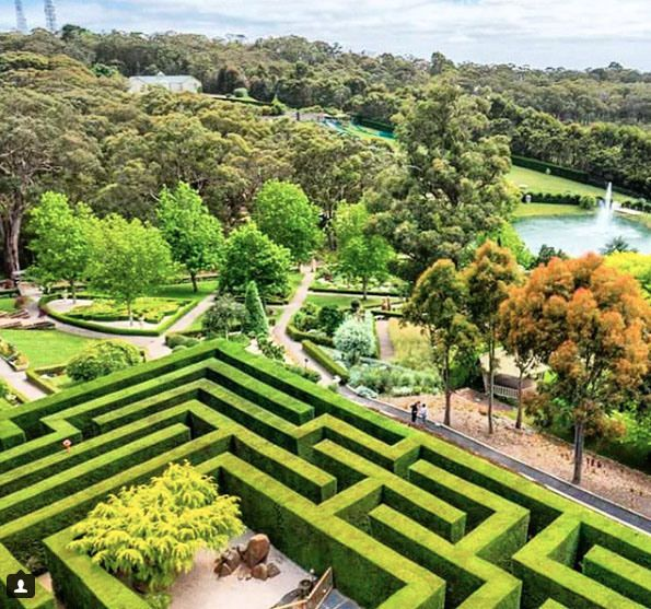 Enchanted Adventure Garden, Arthurs Seat near Mount Martha. Mornington Peninsula, Victoria, Australia. Photo: EnchantedAdventure