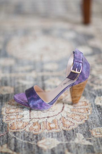 Aubergine Ankle Strap