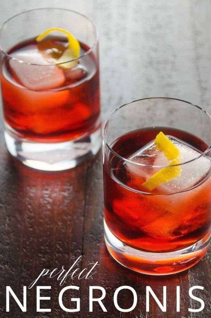 The Negroni Is A Best In Class Classic Cocktail And A Perfect Aperitif Here S Everything You Need To In 2020 Negroni Recipe Classic Cocktails Vodka Cocktails Recipes