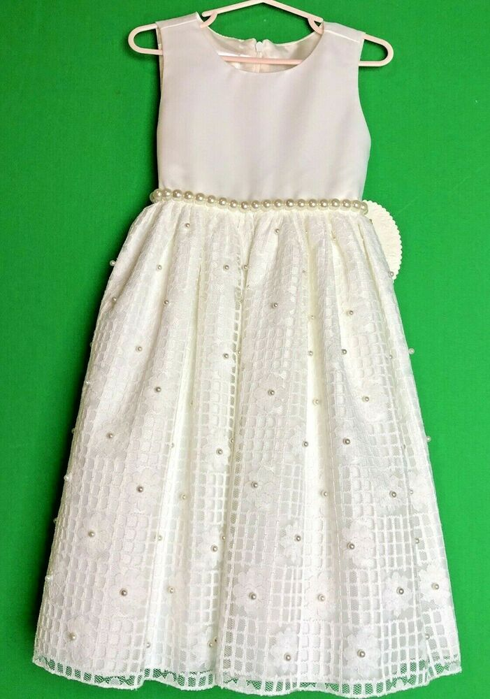 Girls AMERICAN PRINCESS party dress 2T 4 5 NWT pink Easter sundress flower white