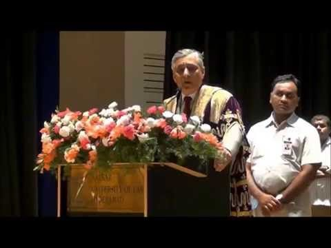 Nalsar University of Law | Chief Justice of India Justice T.S Thakur | Inspirational con-vocation Speech for Law Students .