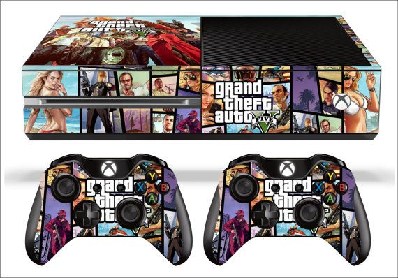 GTA 5 XBOX ONE Skin by SignSmith on Etsy