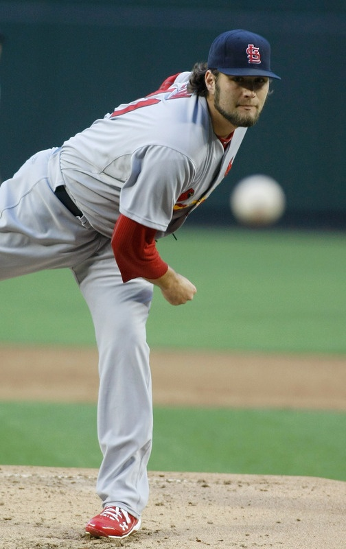 Lance Lynn is on fire this season- only mlb player with a 6-0 record this season  5-07-12