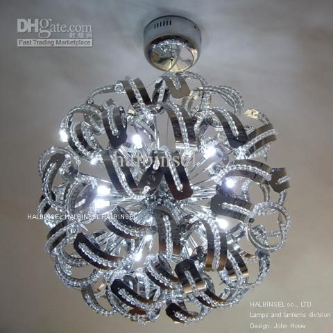 Whole Crystal Chandelier Christmas Ball Snowball 293 2 Dhgate