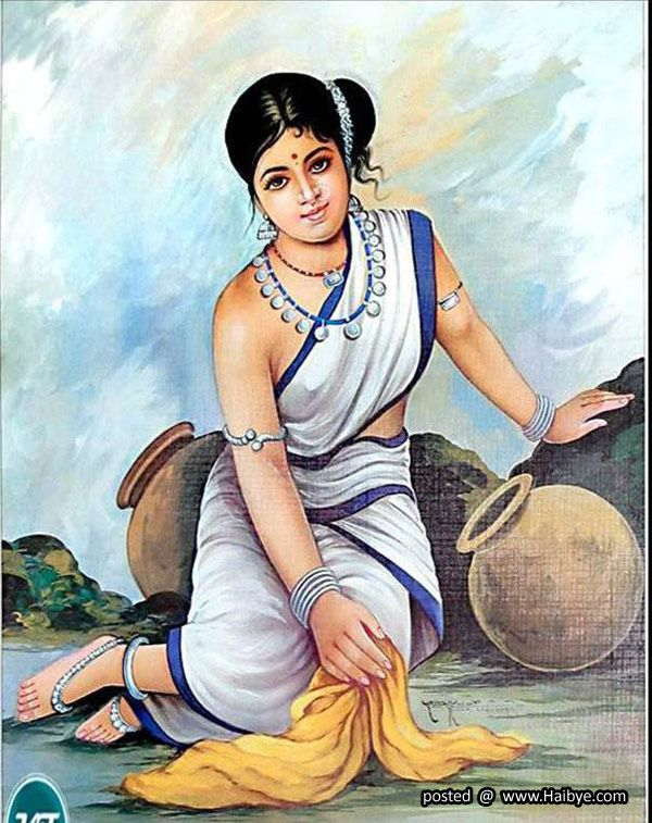 Beautiful Traditional Women Paintings  Indian Paintings -6290