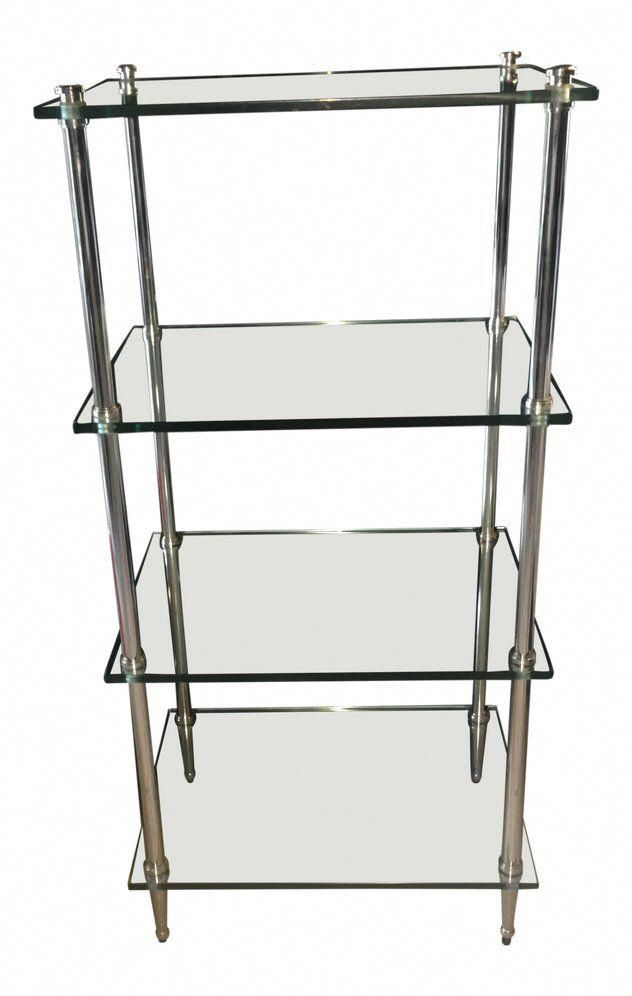 #4ShelfGlassCabinet Product ID:4706049595 #GlassShelvesUnit  – Glass Shelves Unit