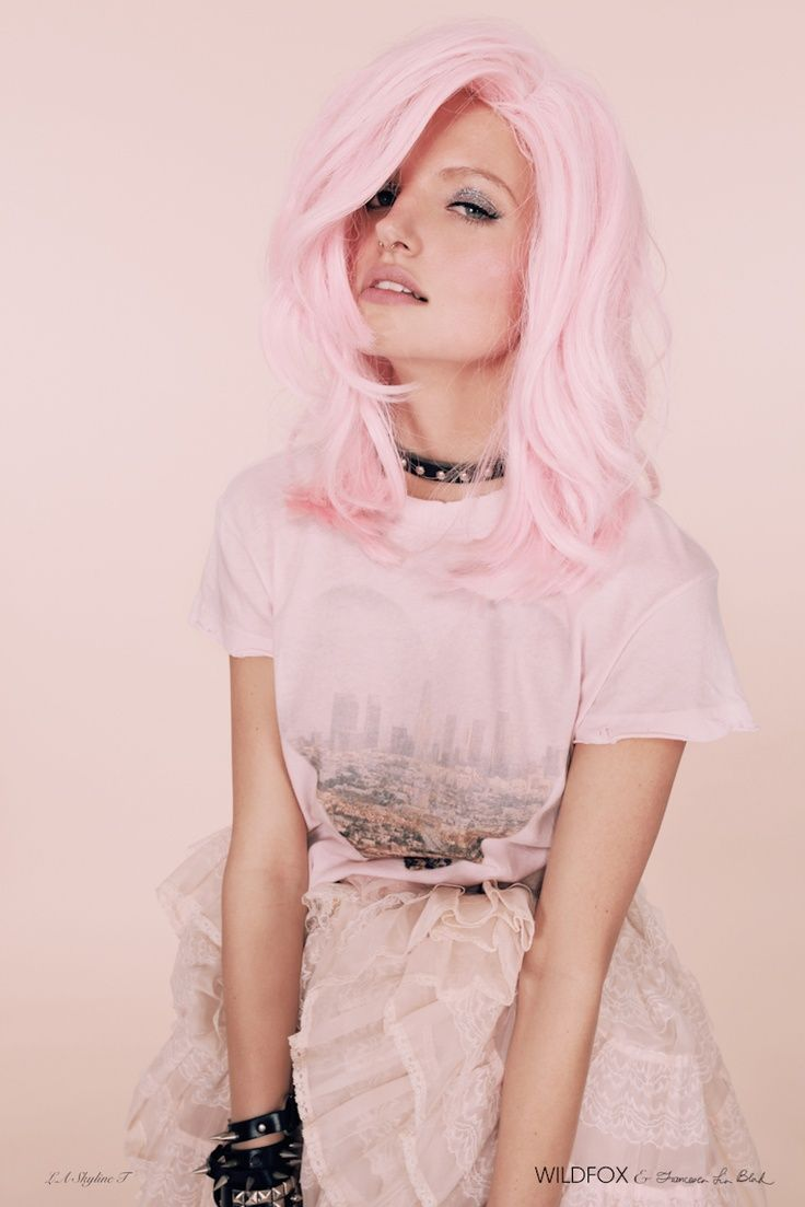 220 best Pretty Pink Hair images on Pinterest | Colourful hair, Hair ...