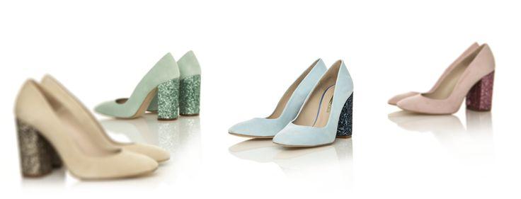 Las cuatro combinaciones del modelo Cala de Hannibal Laguna #zapatos #shoes