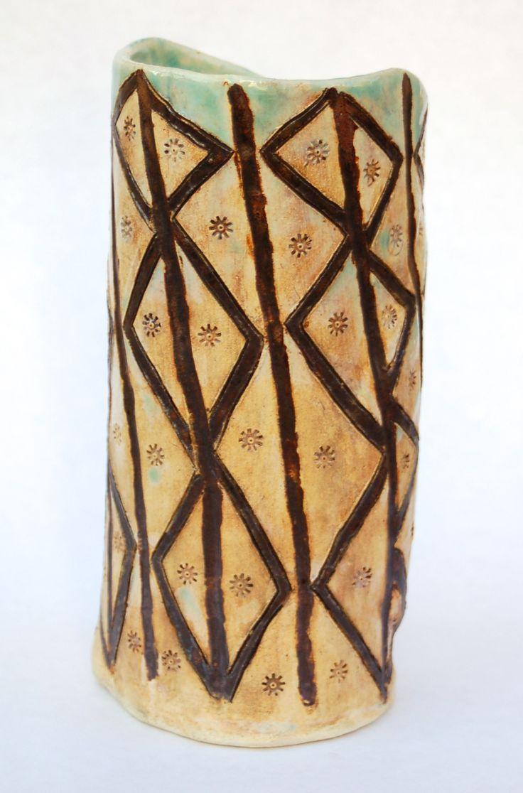 72 best lincoln academy ceramics images on pinterest lincoln incised slab vase reviewsmspy