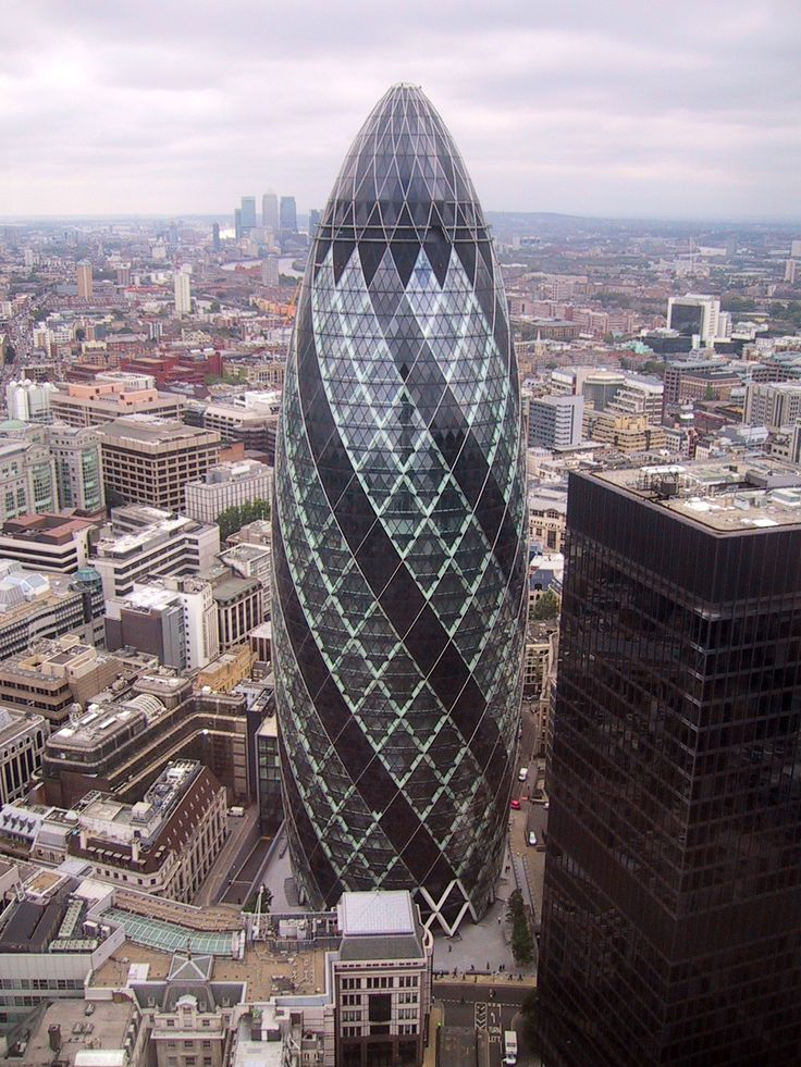 30 St Mary Axe in London's financial district