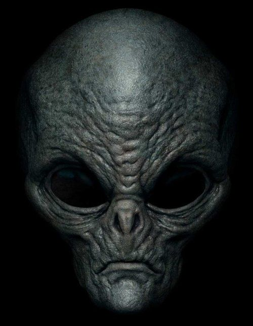 Waking up to this grey alien staring at me is not high on my bucket list