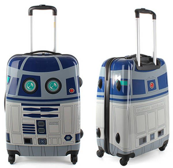 Nerdy R2D2 luggage