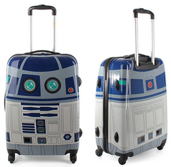 Nerdy R2D2 luggage